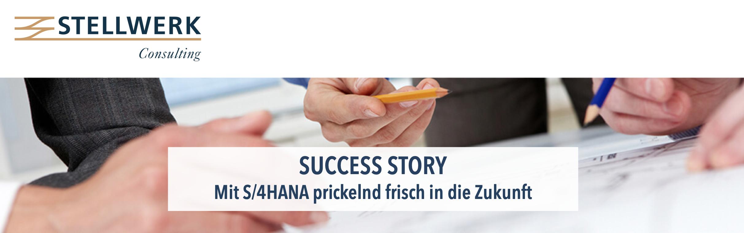 Success Story: Mit S4/HANA prickelnd frisch in die Zukunft