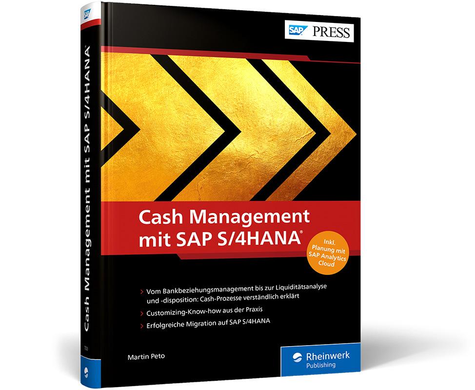 "Buch ""Cash Management mit SAP S/4HANA"""